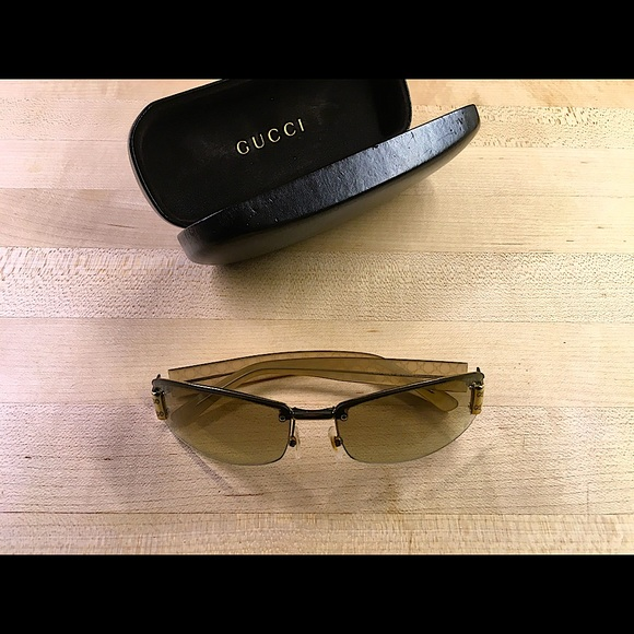 Gucci Gold Sunglasses GG1799, RFZ5U 60mm, 15, 125